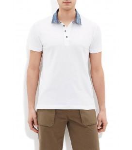 Mavi Polo Yaka Tişört  062685-20454 Polo Tişört Beyaz