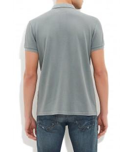 Mavi Erkek Tişört Yeşil Polo Tişört Yarı Dar Kesim, 064107-23142