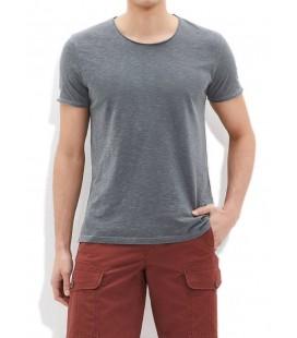 Blue Grey Men's T-Shirt Slim Fit 063504-23647