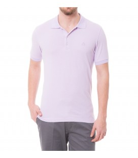 Karaca Erkek Slim Fit Pike T-Shirt - Açik Lila 117106102