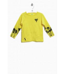 Nebbati Erkek Çocuk Sarı S-Shirt 3838NBN3405