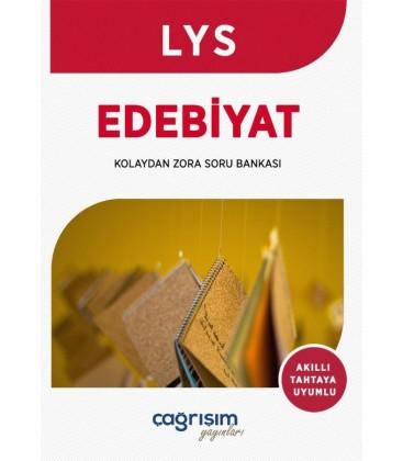 LYS Edebiyat Kolaydan Zora Soru Bankası - Çağrışım Yayınları