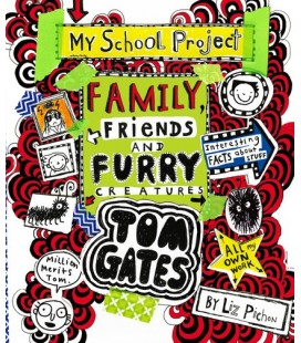 Tom Gates family, friends and furry creatures