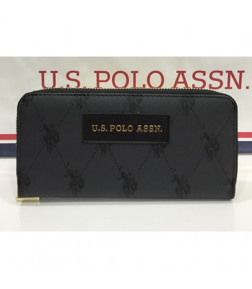 U.S. Polo Assn.Siyah Bayan Cüzdanı Usc9325