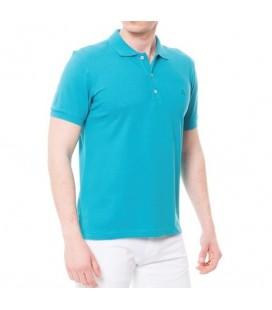 Deer Men's Pique Slim Fit T-Shirt - 117106102 T-Shirt-Petrol