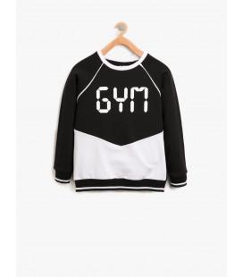 Koton Written 8KKG12369YK999 Printed Sweatshirts
