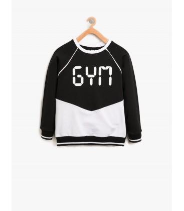 Koton Yazılı Baskılı Sweatshirt 8KKG12369YK999