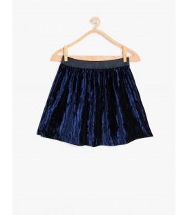 Koton Kız Çocuk Kadife Etek Velvet Skirt  8KKG77826OK