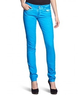 951011220 Blue Women's Pants - Blue 1019714725