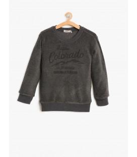 Koton Çocuk Baskılı Sweatshirt 8KKB16438OK045