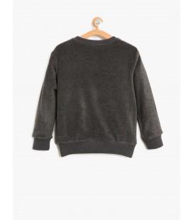 Children's Printed cotton Sweatshirt 8KKB16438OK045