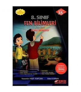 8. Sınıf Fen Bilimleri Soru Bankası - Esen Yayınları