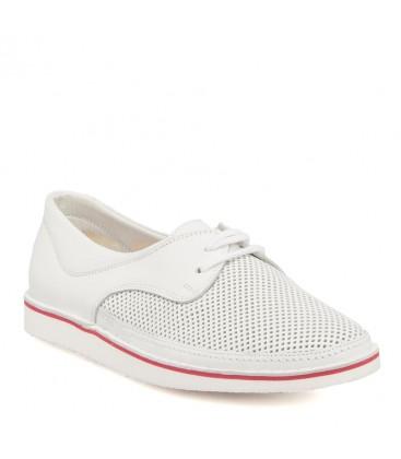 Z17I1AY63343 ladies shoes white leather Tergan