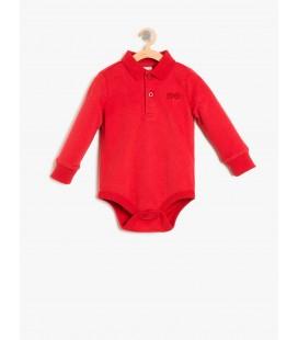 Boy cotton Button-detailed body 8KNB10050OK480