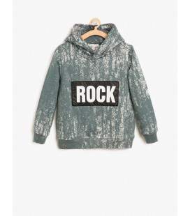 Koton Kapüşonlu Sweatshirt 8KKB16147TK780