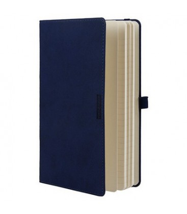 Globex 6701 Lux artificial leather ruled Notebook 13x21