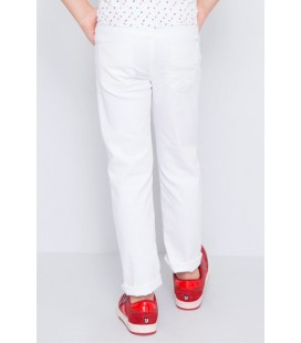 U.S. Polo Assn. Beyaz Erkek Çocuk Spor Pantolon G083SZ078.UZAY.452035