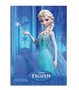 Disney Frozen Elsa Defter A4 Güzel Yazı Defteri 40 yaprak