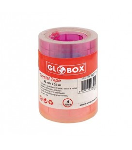 Globox Kristal Renkli 4lü Bant 6522