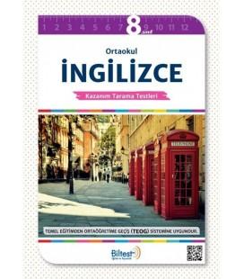 8. Sınıf İngilizce Kazanım Tarama Testleri - Biltest Yayınları