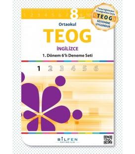 8. Sınıf 1.TEOG İngilizce 6 Deneme - Bilfen Yayınları