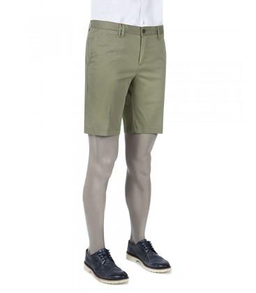 Plain khaki shorts slim fit Groom 6DC13SG68135H01 Ds