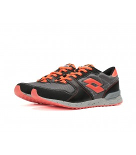 Lotto Unisex Black Daily Shoes R8744