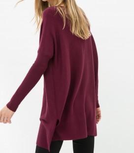 Women's long sleeve Plain cotton Sweater 7KAK94842OT480