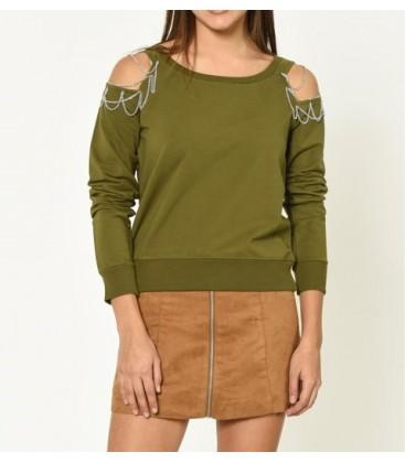 6KAL11785JK801 cotton Women Sweatshirts