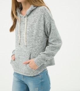 Koton Kadın Kapüşonlu Sweatshirt 7KAL11441JK027