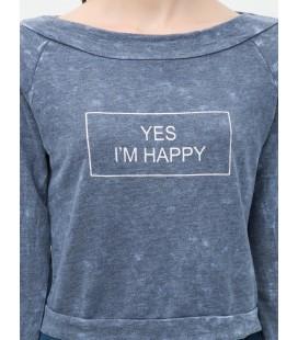 Ms. cotton long sleeves Printed Sweatshirts 6KAL11325OK742