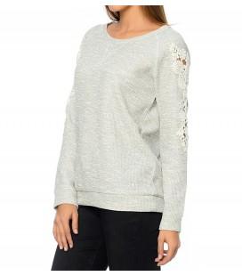 Mavi Kadın Switshirt 164614-20076 Shoulder Lace Sweatshirt