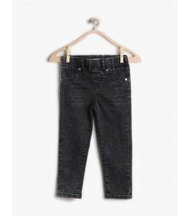 Jean trousers Kids Girl cotton 7KKG47715DDBD3