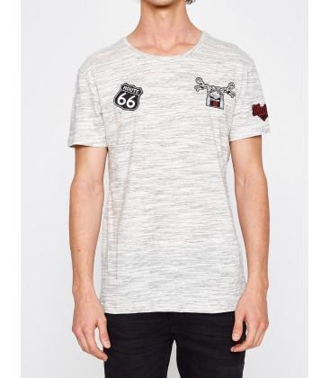 Men's cotton Short Sleeve T-Shirt 7YAM11585LK08A