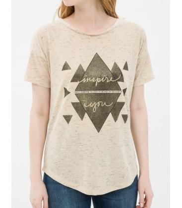 Koton Kadın Kısa Kollu T-Shirt  6YAK13854QK03H