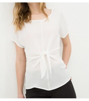 Cotton blouse women's flat 6YAK62425CW000
