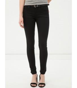 Women's black cotton jeans 6YAK47037DDBA5