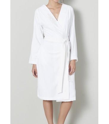 Ella a white robe woman CK17YBOR01 Chakra-BKU