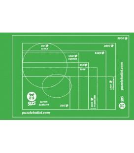 3000'lik Puzzle Halısı Yeşil