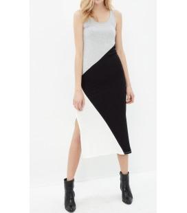 Koton Kadın Yırtmaç Detaylı Elbise 7YAK83538OK023