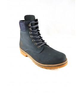 U.S. Polo Assn. S082SZ033ERD Navy Nubuck men's Boots