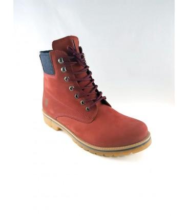 U.S. Polo Assn. Men's Burgundy Nubuck Boots S081SZ033ADM