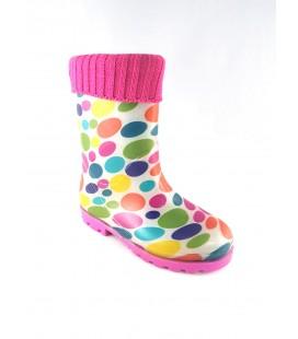 171740 Rain Boots Fuchsia Kids 3