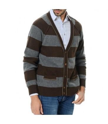 Men's cardigan lufia LF12WMSW413