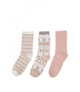 DeFacto Kadın 3'lü Çorap Seti H5283AZ