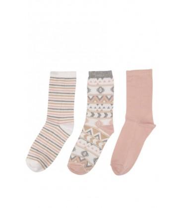 DeFacto women's socks 3-H5283AZ Kit