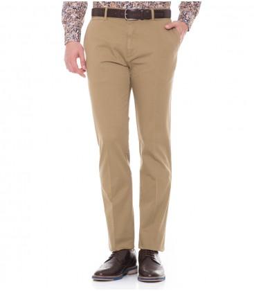 A Regular Fit Men's Casual Pants Mink Deer 116203012