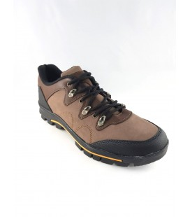 Bağcıklı Kahverengi Siyah Erkek Spor Ayakkabı
