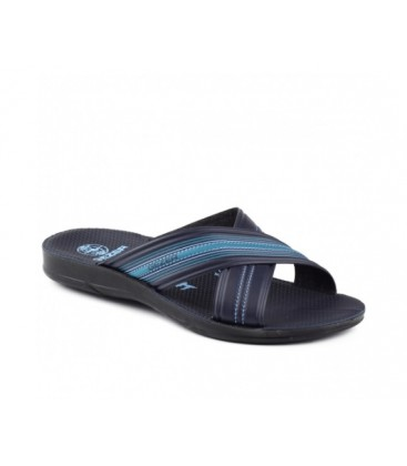 Gezer Slippers Navy Blue 08435 Daily Male