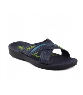 Gezer Slippers Navy Blue 08467 Daily Male